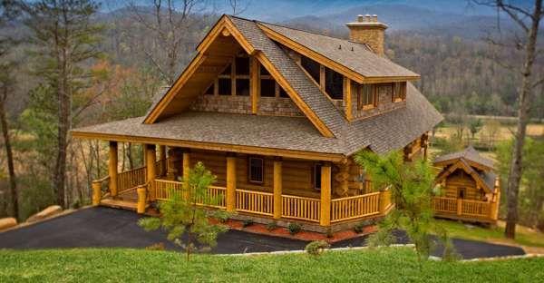 Dream a Little Dream Log Home