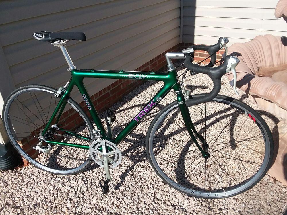 Trek 5000 Carbon Fiber Oclv 120 Usa 54cm Road Bike Shimano Ultegra 105 Bontrager Rennen Rad