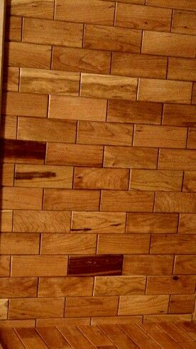 Cherry Wooden Wall Tiles Available At Homedepot Com Order Your Case Of Cherry Tile Today With Free Shippin Wooden Wall Tiles Diy Rustic Decor Family Room Walls