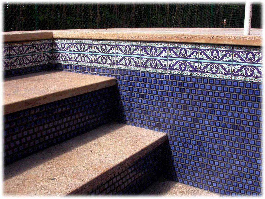 pool liners and waterline pool tiles