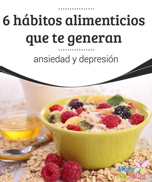 Cocinar Para Mucha Gente | 6 Habitos Alimenticios Que Te Generan Ansiedad Y Depresion Mucha