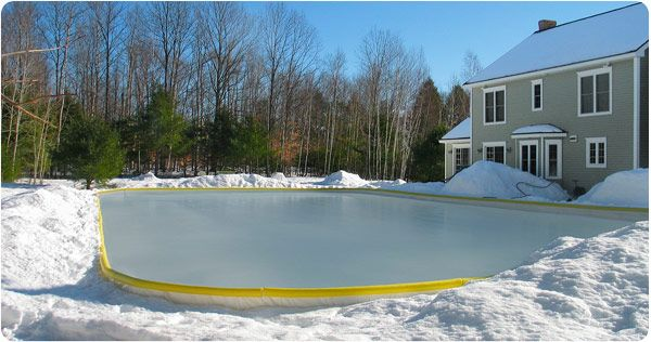 Etonnant Backyard Ice Rink Liners By NiceRink Are The Best Way To Create Your  Perfect Home Ice Rink. NiceRinku0027s Strong Liners Are Durable Enough For  Years Of Use On ...