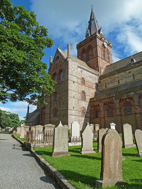 St Magnus Cathedral, Kirkwall, Orkney Isles, Scotland | Flickr - Photo Sharing!
