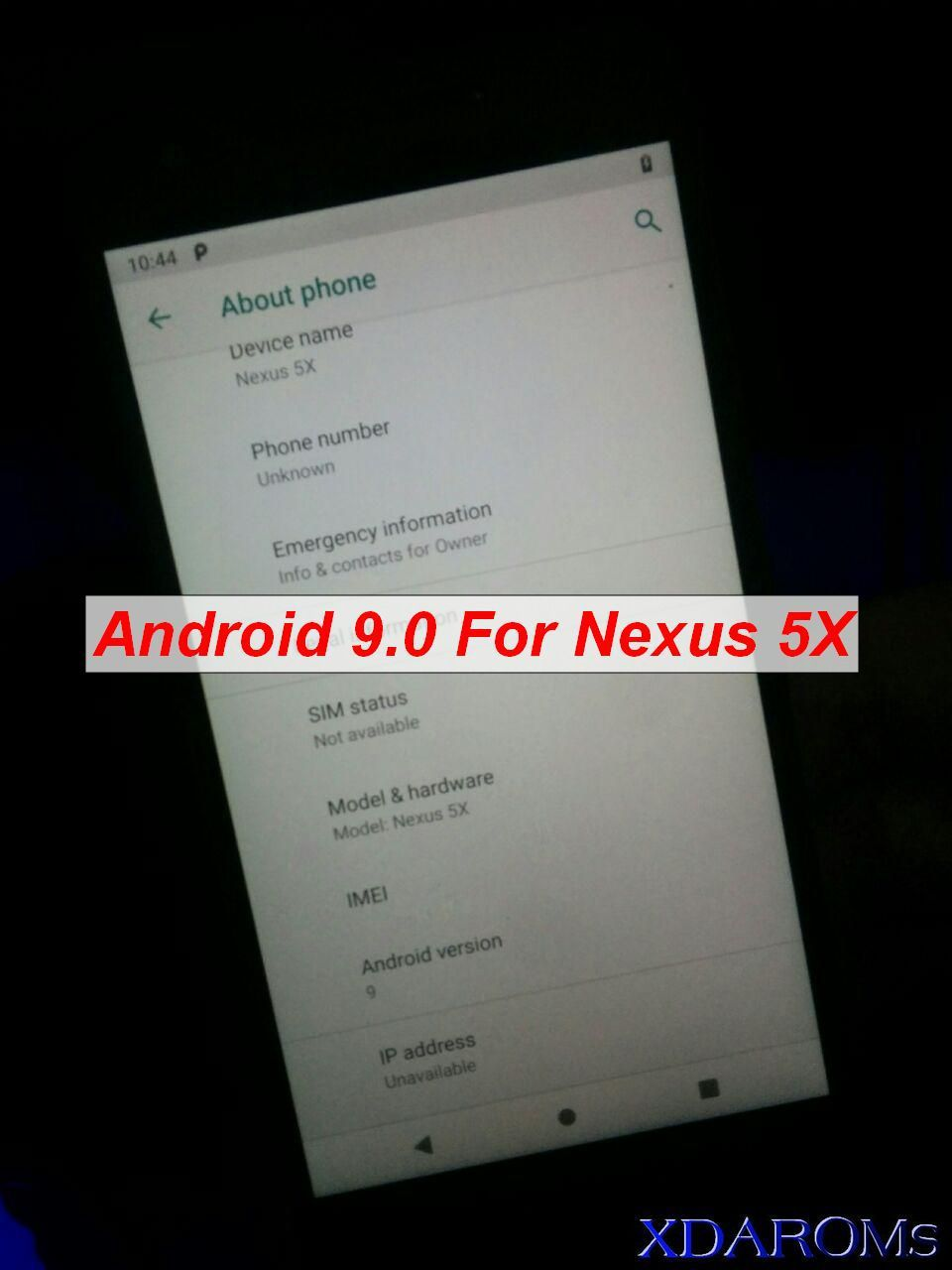 The Android 9 0 Pie is now available for Google Nexus 5X