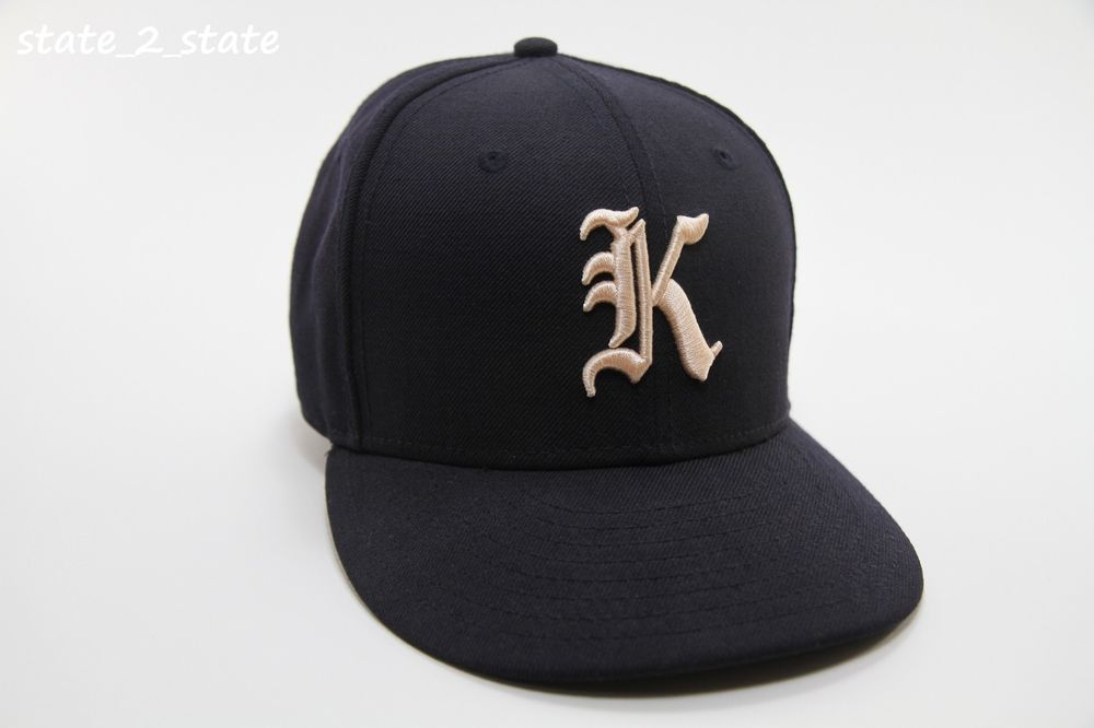 Kith x new era gothic k 59fifty fitted cap hat size 7 14