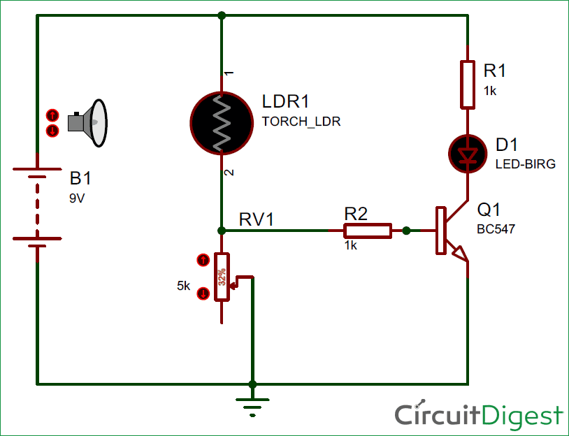 Light Detector Circuit Diagram