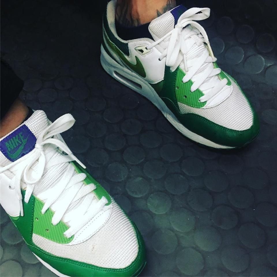 acheter populaire 526bb a222b Nike Air Max Light 2008 – White – Chlorophyll – Pine Green ...
