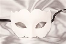 Blank Venetian Masks To Decorate Blank Masquerade Mask  Undecorated Venetian Mask  Iris  Dance