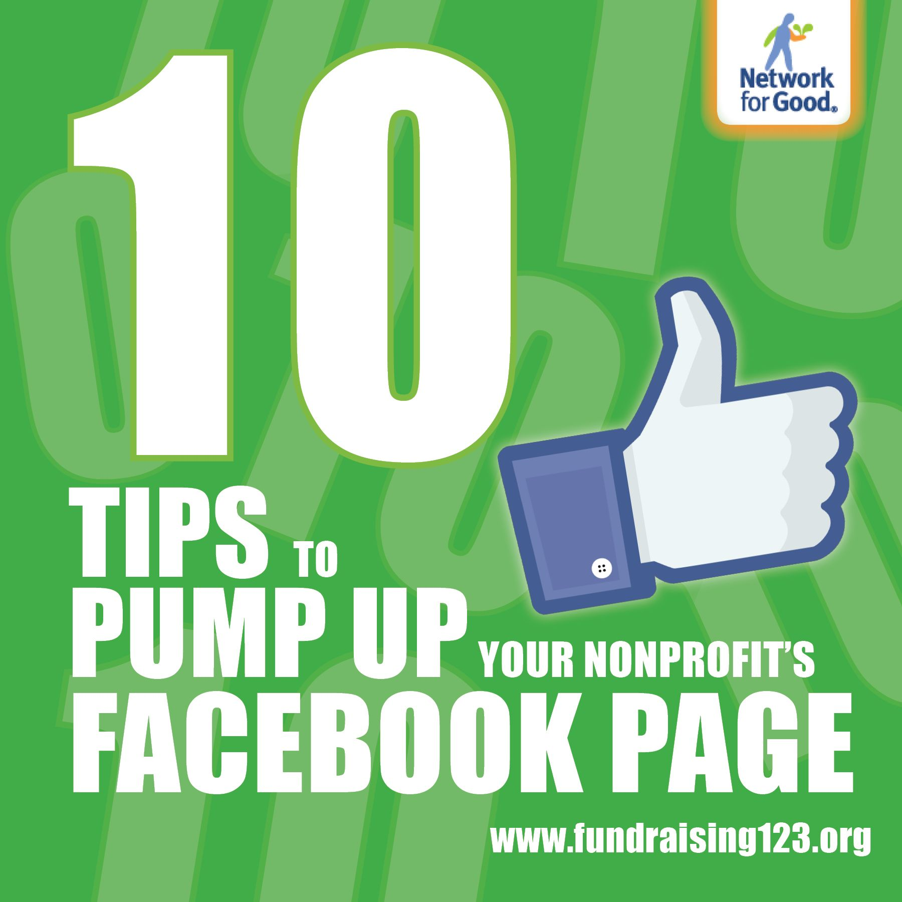 Pump Up Your Nonprofit S Facebook Page 10 Tips Social Media