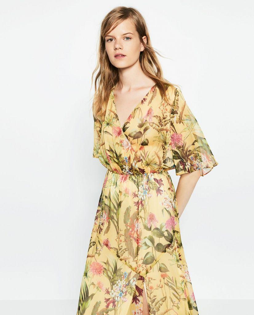 Robe longue Zara -Top 50 des plus belles