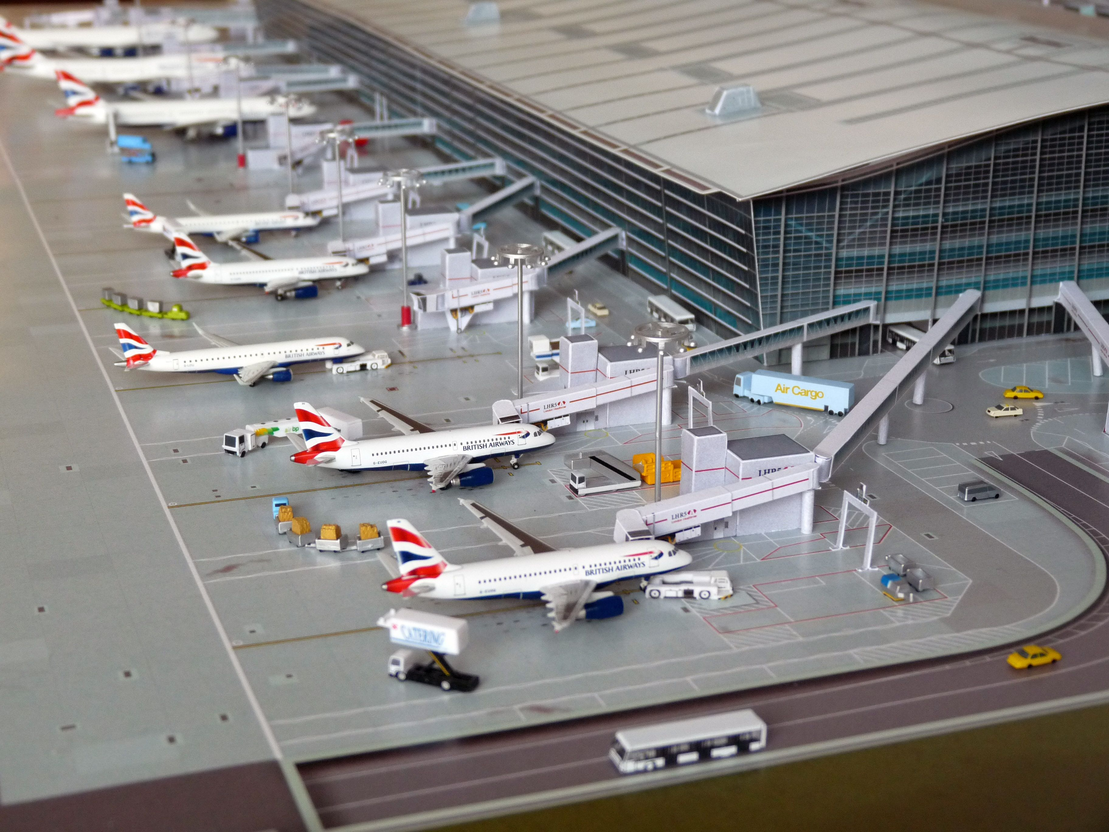 No Point Airport Diorama Airport Lhr Heathrow Series Look A