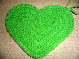 Resultado de imagen para corazones a crochet