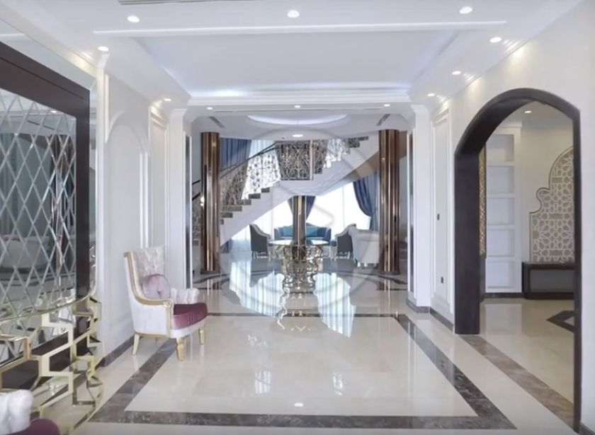الكيدرا للتصميم الداخلي Hall Design Entrance Design Luxury Homes