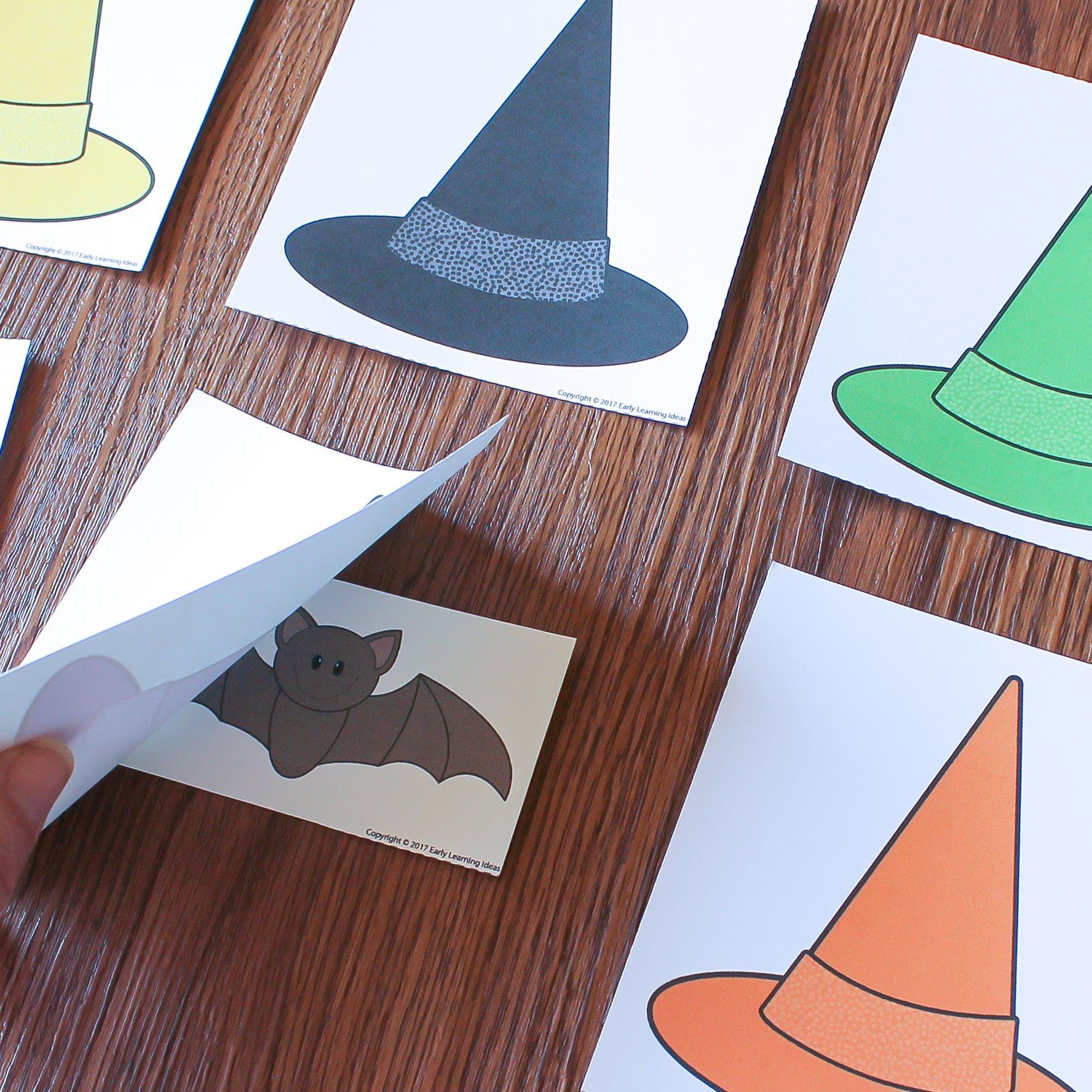 Preschool Halloween Game Little Bat Printable