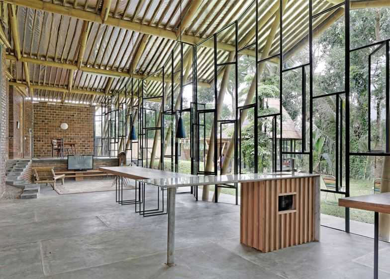 Bamboo Architecture Buildings And Structures 100 best bamboo architecture images on pinterest | bamboo
