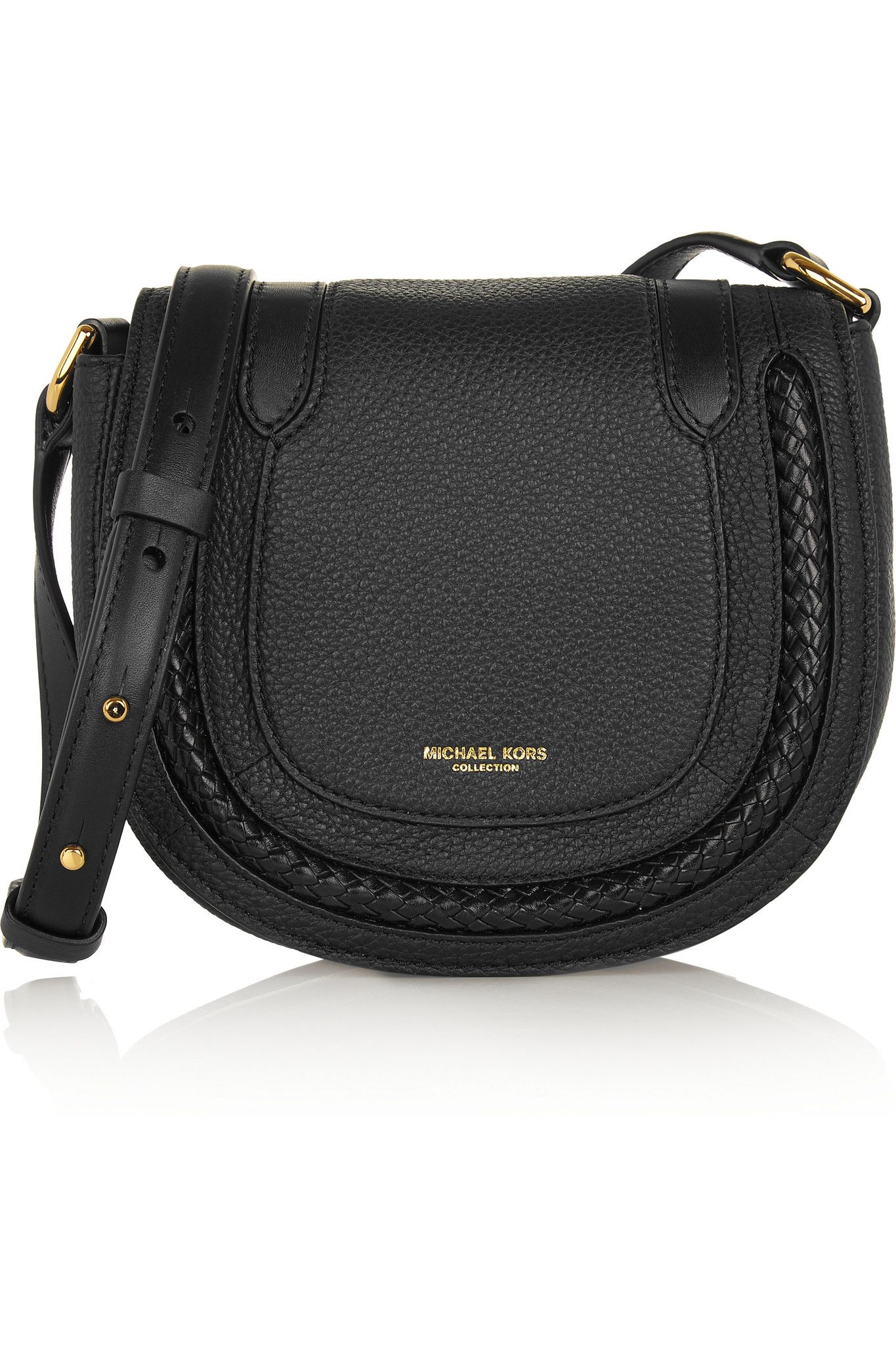MICHAEL KORS COLLECTION Skorpios small textured-leather shoulder bag  $650.00 https://www.net-a-porter.com/products/639938