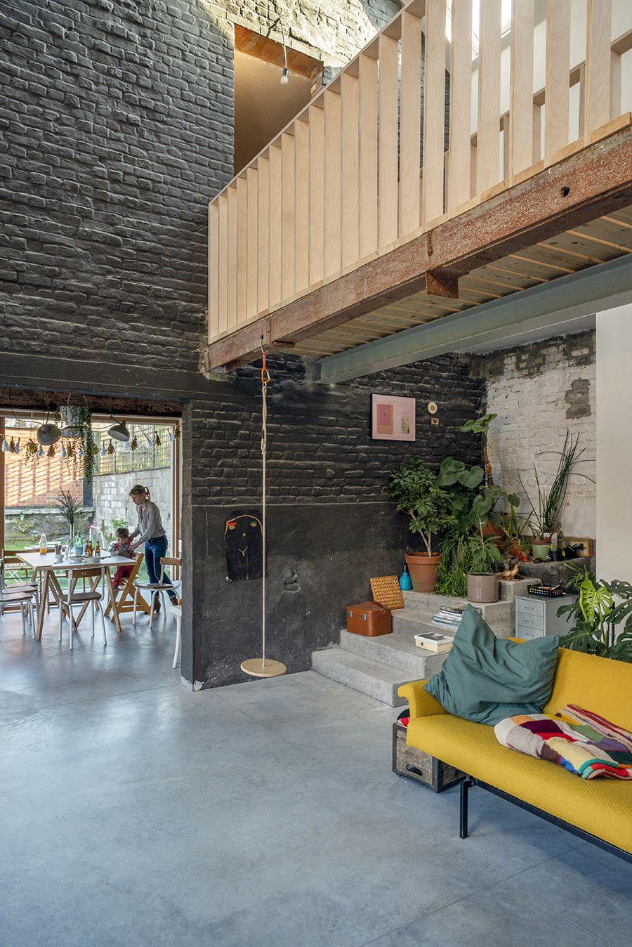 Transformation D Une Scierie Ouest Architecture Gand Delphine Mathy Architectuur