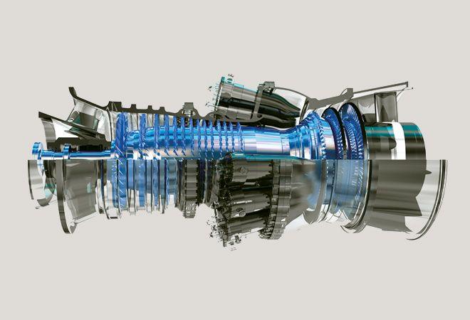 GE 7FA gas turbine | Products | Gas turbine, Aircraft engine