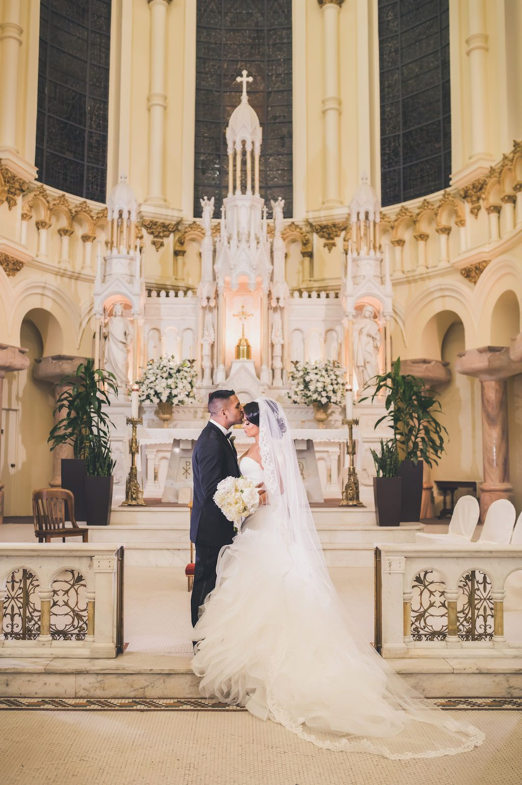 Modern, Elegant, Purple Downtown Tampa Wedding Church