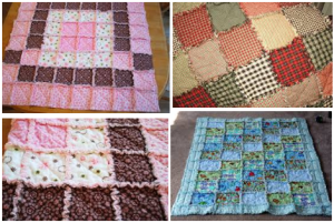 rag quilts for beginners