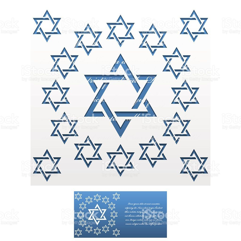 Invitation envelope template of jewish star of david for laser envelope template for laser cut royalty free stock vector art stopboris Image collections