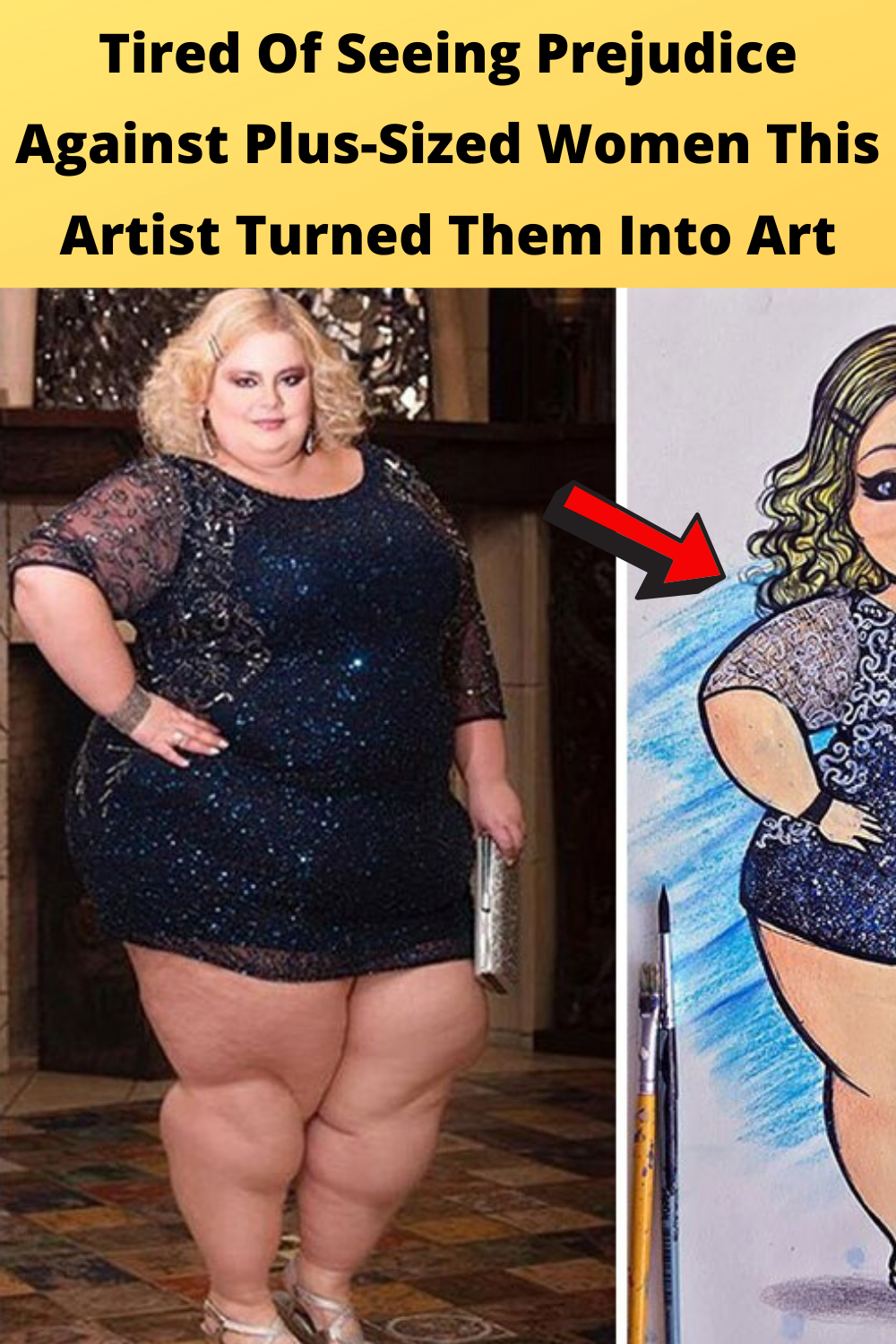 Tired Of Seeing Prejudice Against Plus-Sized Women This