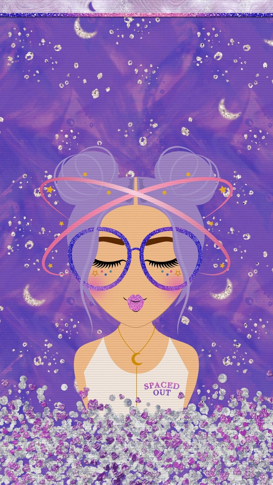Tee S Iscreen Creations Iphone Wallpaper Glitter Cute Wallpapers Cute Girl Wallpaper