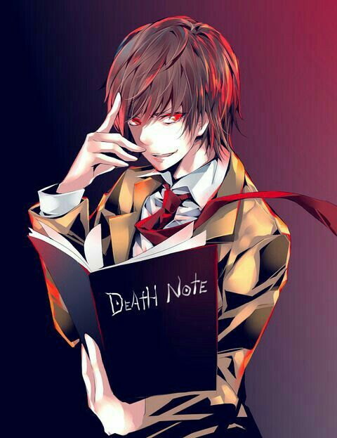Here S My Death Note Anime  Anime    Death Note