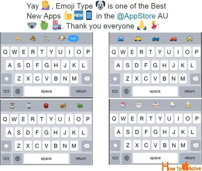 Use Predictive Emoji On Keyboard From Iphone Ipad Ios 10 Emoji Keyboard Ipad Keyboard Ipad Ios