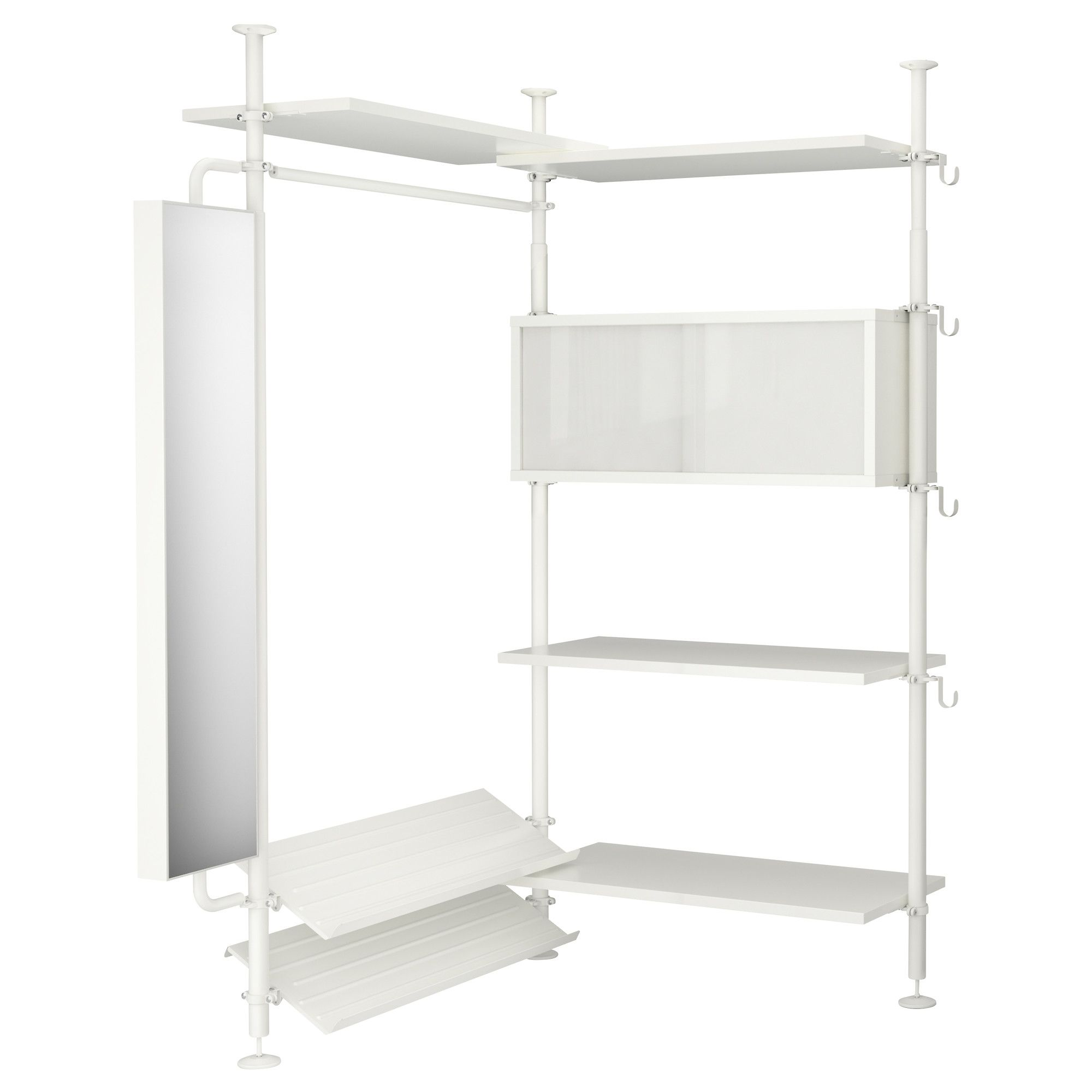 STOLMEN 2 sections - IKEA - this could be a game changer for my bedroom.