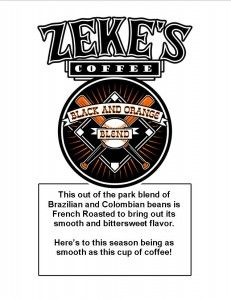 Signature Blends Zeke S Coffee Black Coffee Baking Muffins French Roast