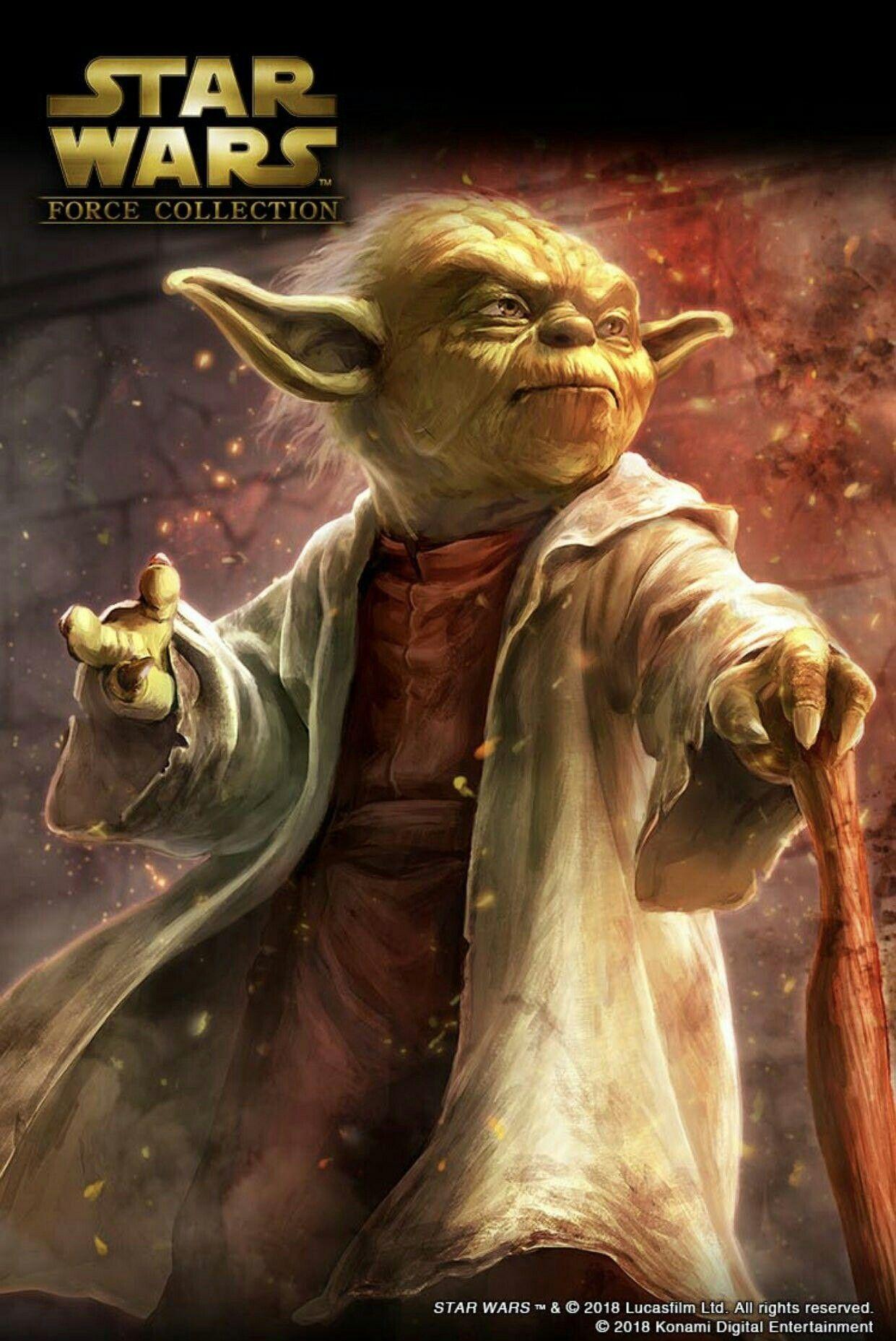 Grand Master Yoda Star Wars Yoda Star Wars Force Collection Star Wars Pictures