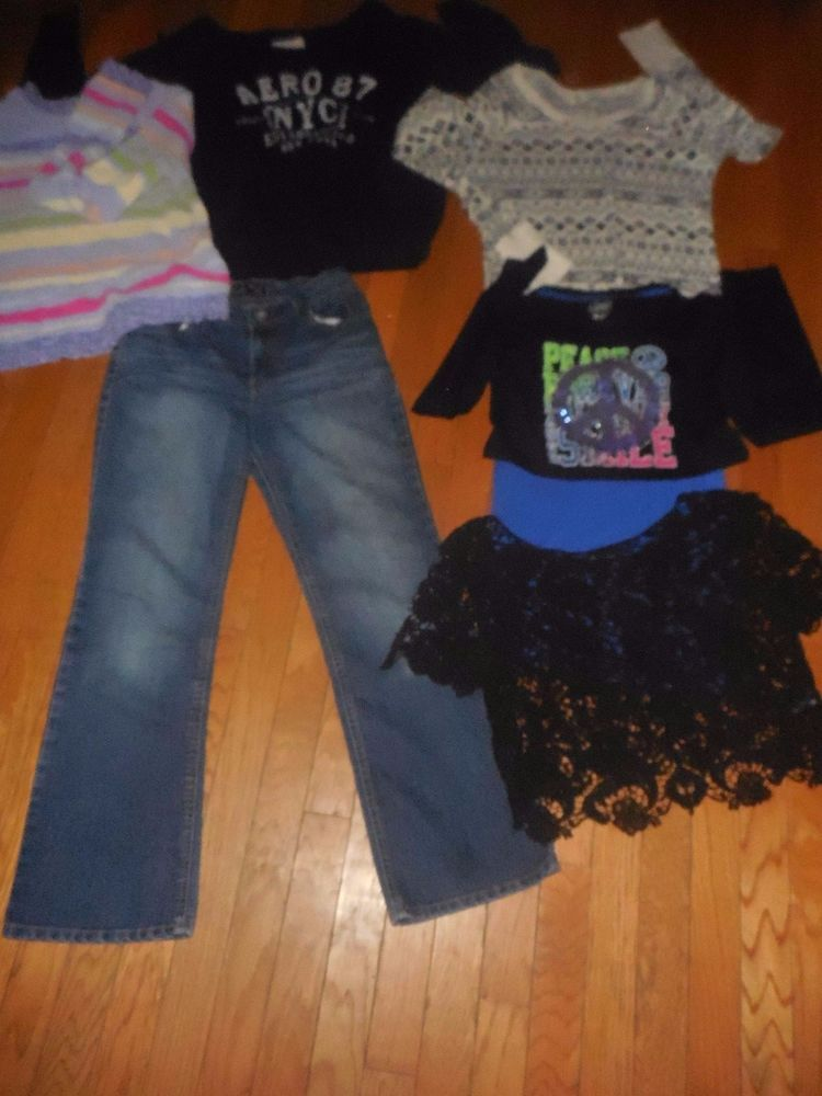 55547bf3d8230 Details about Girls Size 14/16 XL Mixed Lot (new W/o Tags & Used ...