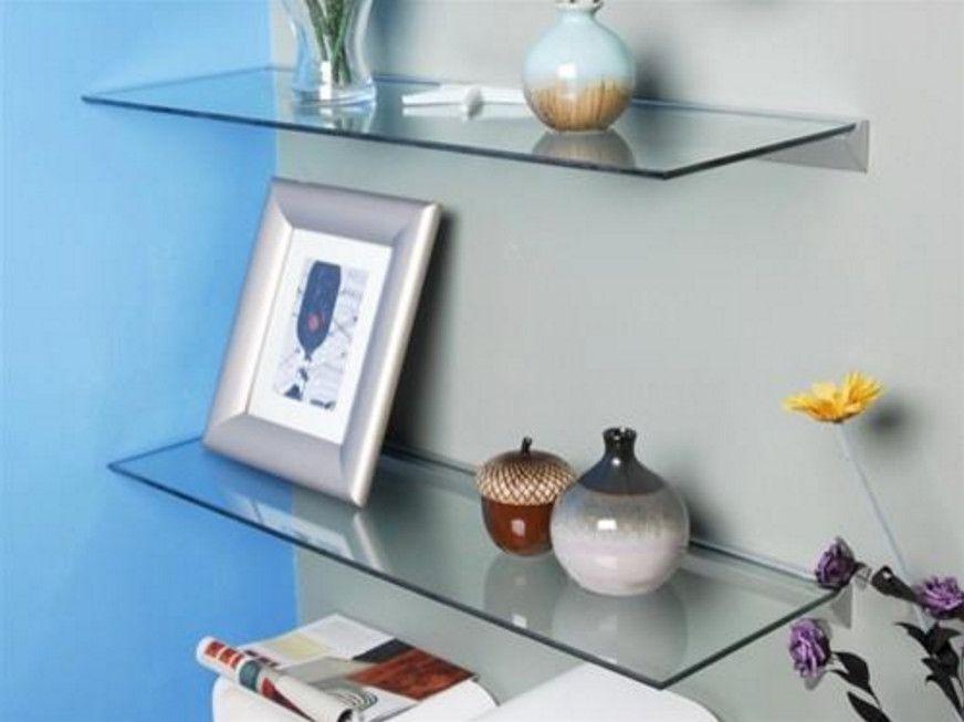 floating glass wall shelves for living room 4 Pinterest Glass wall shelves  Shelving and Wall shelves. Smoked Glass Floating Shelves