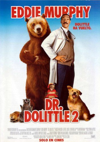 Doctor Dolittle 2 Movie Poster (11 x 17 Inches - 28cm x 44cm) (2001) Spanish Style A -(Eddie Murphy)(Kristen Wilson)(Raven-Symoné)(Kyla Pratt)(Lil' Zane)(Denise Dowse) Doctor Dolittle 2 Poster Mini Promo (11 x 17 Inches - 28cm x 44cm) Spanish Style A. The Amazon image is how the poster will look; If you see imperfections they will also be in the poster. Mini Posters are ideal for customizing smal... #MG_Poster #Home