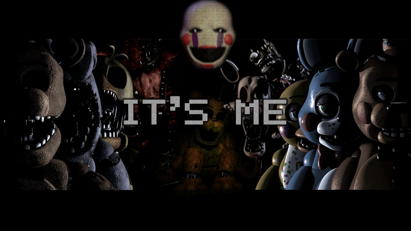 Five Nights At Freddy S 2 Wallpaper With Marionette Fnaf