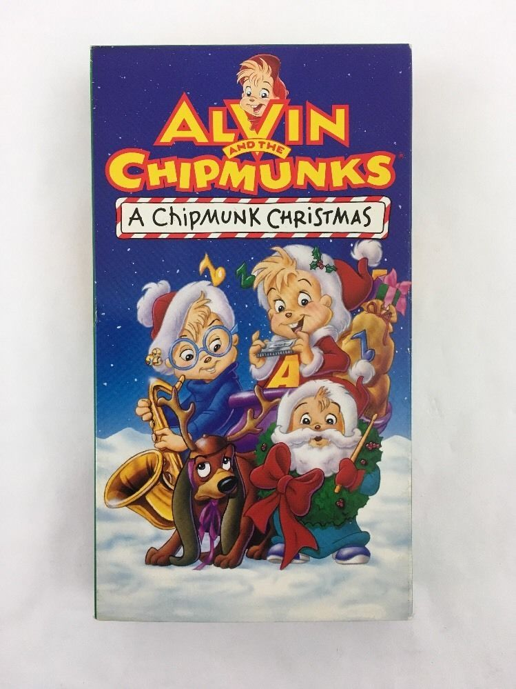 Alvin And The Chipmunks Christmas.Alvin And The Chipmunks A Chipmunk Christmas Vhs