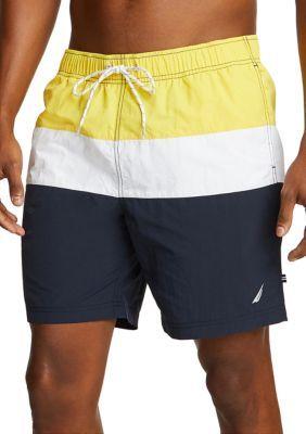 Nautica Colorblock Swim Shorts Swim Shorts Young Men Clothing Nautica Swim
