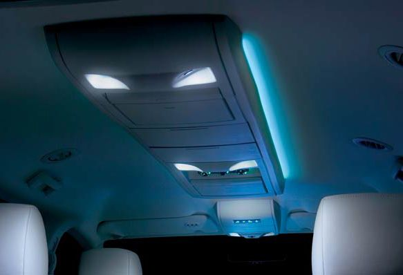 Vehicle Interior Led Lighting