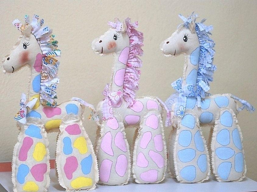 jirafa de manta para recuerdo baby shower souvenirs pinterest
