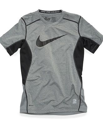 114a3a0f6c Nike Kids T-Shirt, Boys Core Fitted Swoosh Tee - Kids Activewear - Macy's
