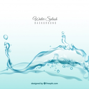 Water Splash Background In Realistic Style Watercolour Texture Background Watercolor Design Backgrounds Background