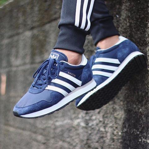 adidas Originals Haven: Blue · Sneakers ...