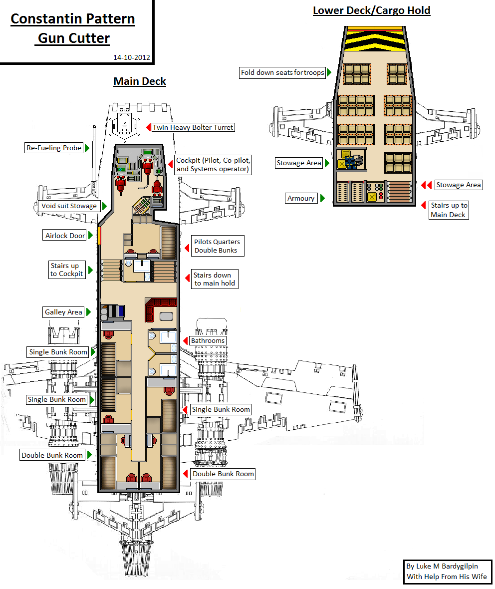 gun cutter floor plans posted in rogue trader gamemasters here