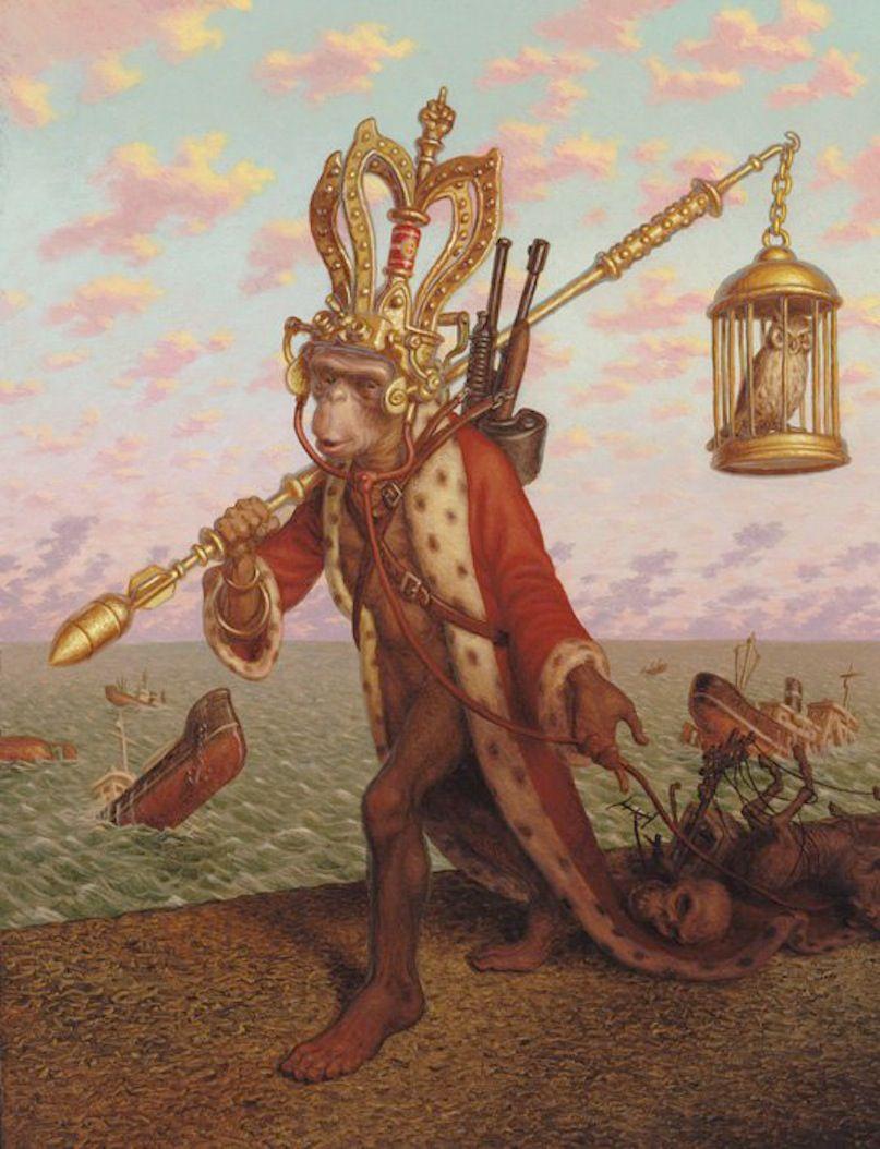 Peter Ferguson, ilustrador surrealista   Museógrafo