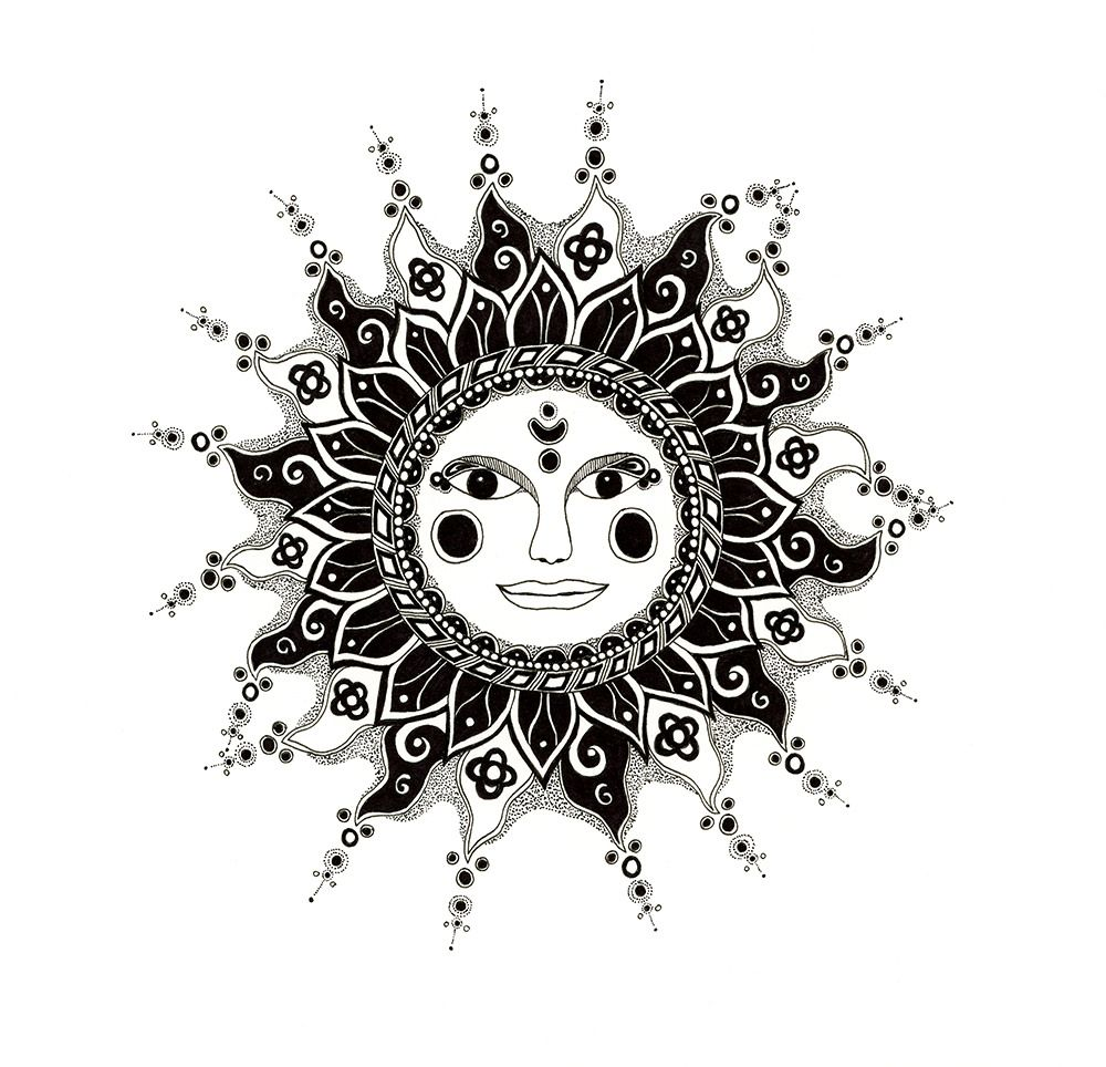Sunrise tribal tattoo designs tribal sun - Tribal Sun Drawing Tumblr Google Search