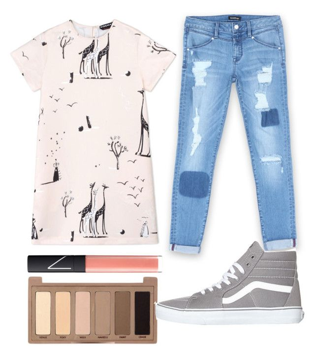 Untitled #128 by lowkeybrenny on Polyvore featuring polyvore fashion style Rochas Bebe Vans Urban Decay NARS Cosmetics clothing