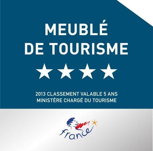 Panonceau de Classement Meublé de Tourisme Panonceau de Classement