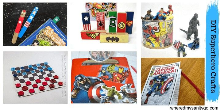DIY Superhero Crafts & Ideas You Need To Make This Summer • #superherocrafts
