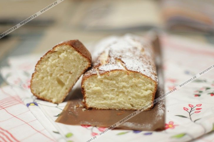 творожный кекс рецепт с фото пошагово